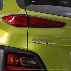 Detailkorea Griben Car Slogan Emblem Badge Silver 30197 for Hyundai Kona | eBay    #Detailkorea #Griben #Car #Emblem #Badge for #Hyundai_Kona #Kona_Badge