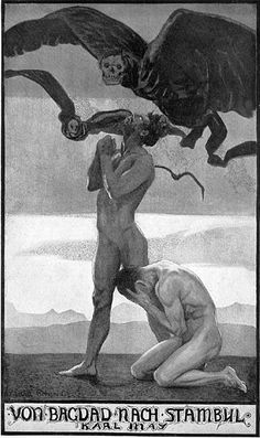 Una Capra - Ovvero Sull'Ignoranza Assoluta — bloghqualls: Sascha Schneider (1870-1927)