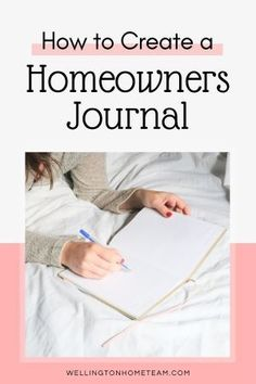 A homeowners journal will make sure you keep all the important documents and information somewhere you can easily find it. Here's a how to guide for creating a homeowners journal. #homeownersjournal #homeowner #tips #advice #homebuying