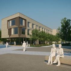 The University of Cambridge has awarded GRAHAM Construction the contract to build the post-graduate student accommodation buildings as part of the first phase of the North West Cambridge Development. Construction News, Social Housing, Planning Permission, North West, Cambridge, Architecture Design, University, Student, Mansions