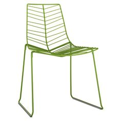 Arper Leaf Stacking Side Chair with Seat Cushion | AllModern