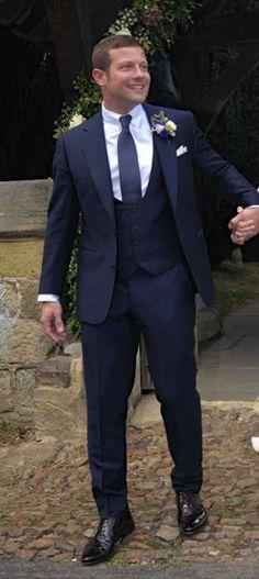 Dermot O'Leary's wedding suit
