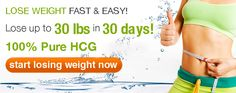 Sponsored HCG weight loss!