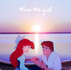 "Everytime I watch this with my sister we always scream at Eric and say ""Gosh Eric! Just kiss her already!!!"" :) #memories #loveDisney"