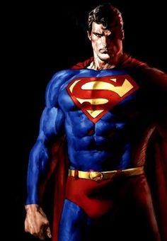 Superman by Mauro Cascioli Batman Vs Superman, Arte Do Superman, Mundo Superman, Superman Cosplay, Supergirl Superman, Superman Family, Superman Man Of Steel, Wallpaper Do Superman, Superman Artwork