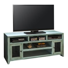 Shop for Legends Furniture Calistoga Blue TV Console, and other Home Entertainment Console Tables at Hickory Furniture Mart in Hickory, NC. Legends Furniture, Swivel Tv Stand, Big Screen Tv, Cool Tv Stands, Diy Tv Stand, Rustic Blue, Home Entertainment, Entertainment Centers, Tv Unit