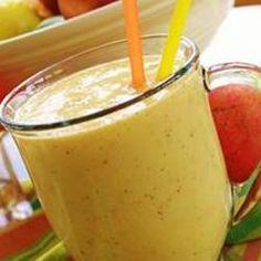 Recept Mango Peer Yoghurt Shake Heerlijke smoothie met vers fruit. Meer energie nodig voor een vitale dag? Begin de dag met een smoothie!