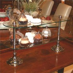 Glass Pastry Stand