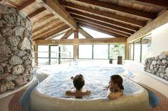 Enjoy the Elisabeth Spa near Kitzbühel in Tyrol Hotels, Wellness Spa, Children Images, Austria, Tub, Outdoor Decor, House, Home Decor, Travel