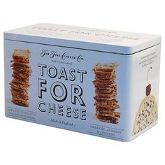 Buy The Fine Cheese Co. Toast For Cheese Biscuit Tin, 200g Online at johnlewis.com