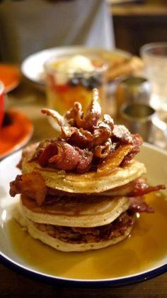 The Breakfast Club. Pancakes