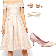 A soft, feminine look with just the right touch of sass. #Spring2015 #fashionset #style