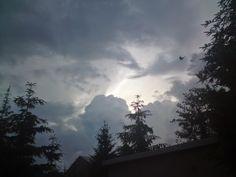 Fotopstryczek : Z głową w chmurach