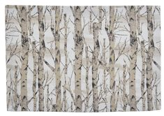 Birch Forest Placemat Birch Forest, Natural Home Decor, Placemat, Earth Tones, Park, Prints, Nature, Design, Parks