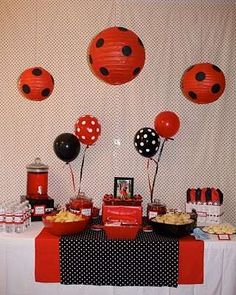 Ladybug Birthday Party Ideas | Photo 8 of 12 | Catch My Party