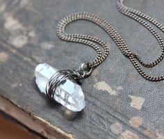 Hey, I found this really awesome Etsy listing at https://www.etsy.com/listing/123131511/quartz-point-necklace-raw-quartz-crystal