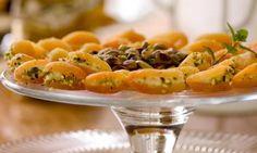 Receita de Damasco com cream cheese e gorgonzola - Docinho e salgadinho - Dificuldade: Fácil - Calorias: 63 por porção