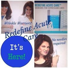 WRINKLE WARRIORS!  Do you have parenthesis around your mouth, #11 between your brows, crows feet around your eyes? Even deep crevices on your cheeks? If you slap on R+F Acute Care patches at night, you can awaken to a new you. Got a wrinkle? Fill it while you sleep without needles. I've got the details and the deals. NO ONE else has this product. R+F owns the patent. Limited availability for the next few weeks before it's fully released in January 2015.