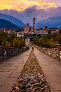 Bobbio, a village near the city of Piacenza, Italy