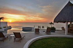 Sun setting over the Sea of Cortez. Villa Amanda, #Cabo San Lucas, #Mexico