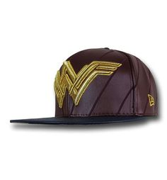 The Batman Vs Superman Wonder Woman Symbol is a rugged hat featuring the symbol for Gal Gadot's character from Dawn of Justice! Produced by New Era! Flatbilled!