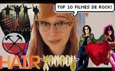 TOP 10 FILMES DE ROCK!