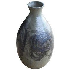 Italian Cobalt Porcelain Handled Urn 705 BAM liked on