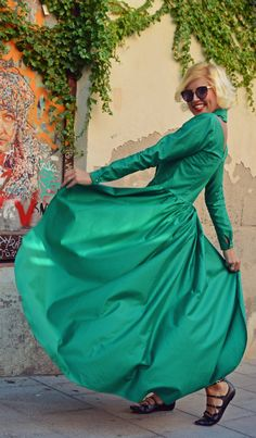 Just in: Extravagant Emerald Top, Flared Cotton Blouse, Emerald Long Tailed Blouse TT96 by TEYXO https://www.etsy.com/listing/467966764/extravagant-emerald-top-flared-cotton?utm_campaign=crowdfire&utm_content=crowdfire&utm_medium=social&utm_source=pinterest