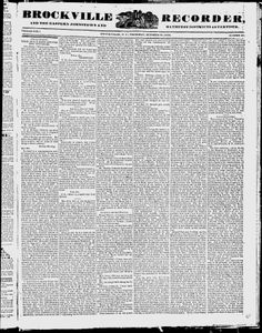 Brockville Recorder - Google News Archive Search