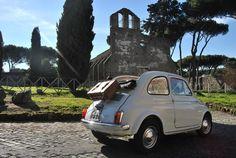 Fiat 500, Roma, Italy