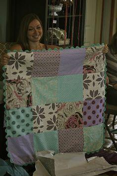 Babies in a Blanket: A Baby Blanket Tutorial