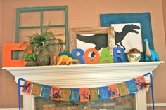 "Photo 1 of 16: Dinosaurs / Birthday ""Dinosaur Birthday Party"" 