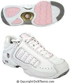 K-Swiss Women's Defier RS (White/Pink) Tennis Shoes, Available in Sizes 5 thru 11 K-Swiss. $84.99