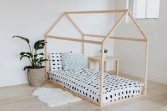 Here at Ruby Rye Co. we are all about simplistic, functional design. Our minimalistic Montessori house bed frames and rustic signs add style and character to any room in your home.