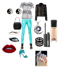 """""""color fun"""" by candycheese2007 ❤ liked on Polyvore featuring Penny Loves Kenny, Balmain, Zhenzi, Repossi, Monsoon, NARS Cosmetics and MAC Cosmetics"""