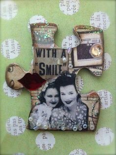 altered puzzle piece #1 | Flickr - Photo Sharing!