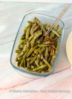 Cluster beans are called gawar or gavar in India and this recipe is typical of how we make a gawar foogath which is often served as a side dish with roti or Pickled Eggplant, Vegetable Prep, Masala Recipe, Chapati, Recipe Please, Rice Dishes, Indian Food Recipes, Green Beans, Side Dish