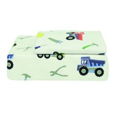 Shop for Trucks and Tools Printed Flannel Sheet Set. Get free shipping at Overstock.com - Your Online Sheets