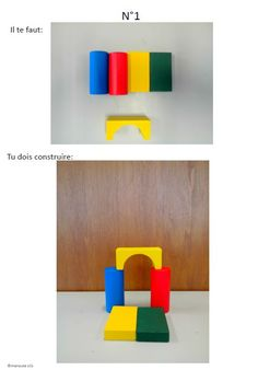 Fiche bloc en bois ateliers autonomes la maternelle des loupiots fiches construction for Construction cube bois