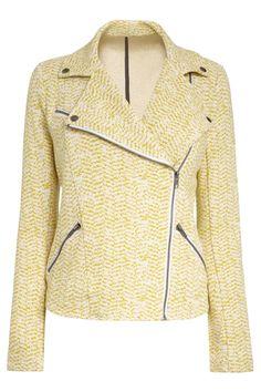 Buy Jersey Biker Jacket from the Next UK online shop