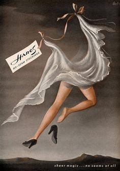 Hanes (Hosiery, Stockings) 1944 Vladimir Bobri