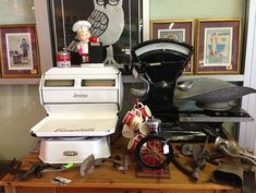 ANTIQUES MALL | AUTO MUSEUM Espresso Machine, Mall, Coffee Maker, Kitchen Appliances, Museum, Antiques, Espresso Coffee Machine, Coffee Maker Machine, Diy Kitchen Appliances