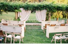 Our Muse - Wedding Photos - Be inspired by this natural summer wedding in California at Ojai Valley Inn & Spa, Ojai, California - wedding, p...