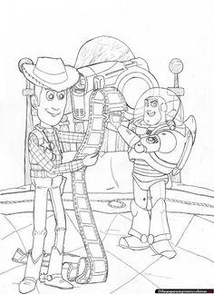 Dibujos de Toy Story para Imprimir y Colorear