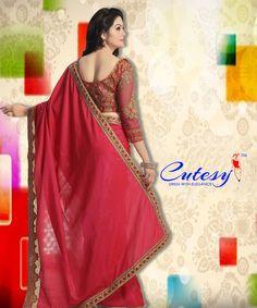 Trendy Sarees, Latest Sarees, Indian Sarees, Ethnic, How To Memorize Things, Sari, Women's Fashion, How To Wear, Stuff To Buy