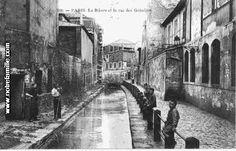 La Bièvre et la rue des Gobelins