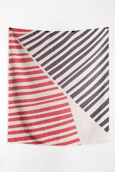 Quite the Angle Cotton Blankets / Throws by Sunny Todd Prints by ZigZagZurich