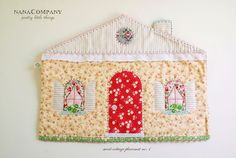 Oh, this little house placemat is too cute!!