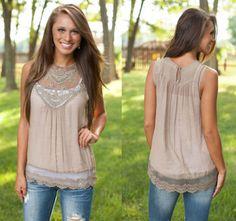Women Lady Summer Casual Top Chiffon Lace Neck Sleeveless Vest Shirt Blouse