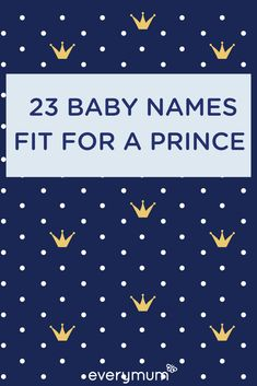 Looking for the perfect name for your baby boy? Well w. Looking for the perfect name for your baby boy? Well why not take inspiration from Royalty, whether real, or fictional! Here is a list of our favourite names that are fit for a Prince Vintage Baby Names, Rare Baby Names, Unisex Baby Names, Vintage Boys, Names Girl, Kid Names, Prince, Baby Boys, Name Inspiration